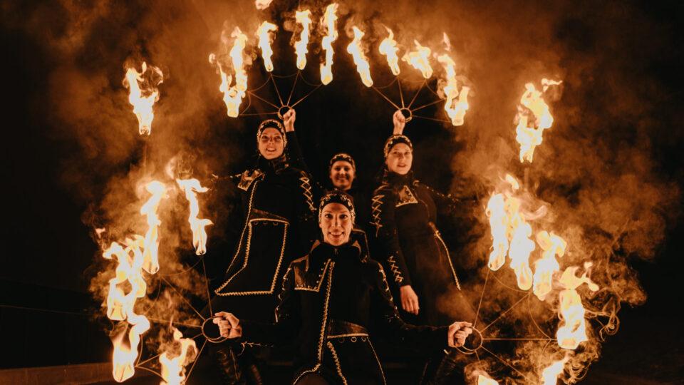 Ilusias fireshow